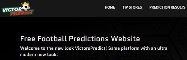 Victorpredict - online football prediction site in nigeria