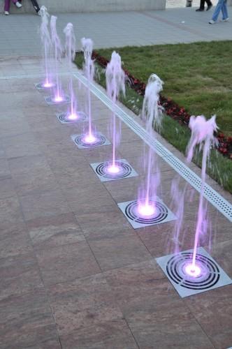 Novi Sad dry fountain  OASE
