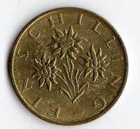 Austria 1 Shilling - 1990