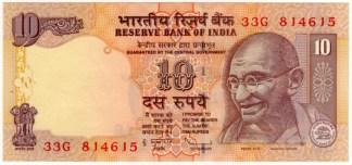 India 10 Rupie 2009