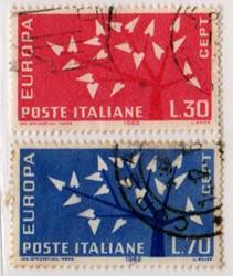 Europa 7ª emissione, 1962