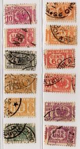 PACCHI POSTALI 1927 - 1939