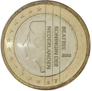 PAESI BASSI 1 EURO - 1999-2013