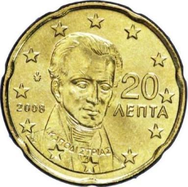 GRECIA 20 CENTESIMI - 2002