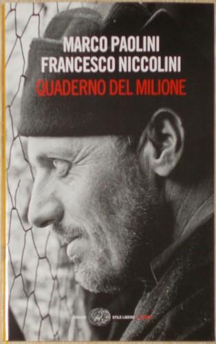 Quaderno del milione - Marco Paolini, Francesco Nicolini