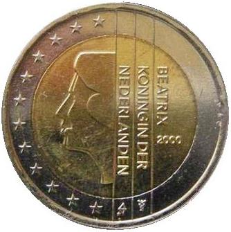 PAESI BASSI 2 EURO