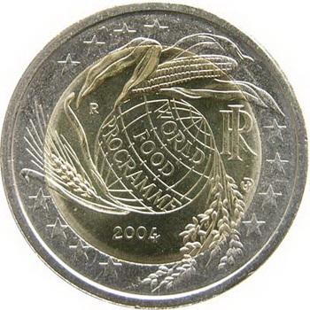 ITALIA 2 EURO WORLD FOOD PROGRAMME 2004