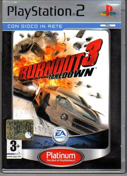BURNOUT3 TAKEDOWN PLATINUM - PS2