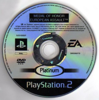 MEDAL OF HONOR EUROPEAN ASSAULT - PS2