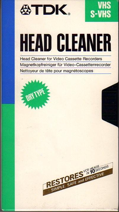 Pulisci testine VHS