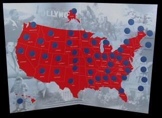 """U.S.A. - PLANCIA RACCOGLITORE """"THE STATE QUARTERS ..."""""""