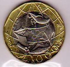 ITALIA 1.000 LIRE - 1997