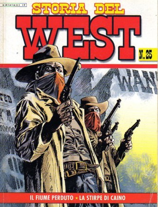 Storia del west N° 25