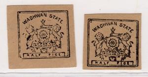 INDIA - PRINCIPATO DI WADHAWAN