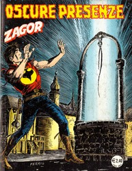 Zagor, numero 524, Oscure presenze