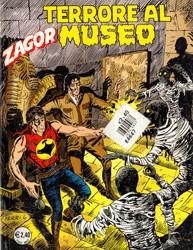 Zagor, numero 521, Terrore al museo