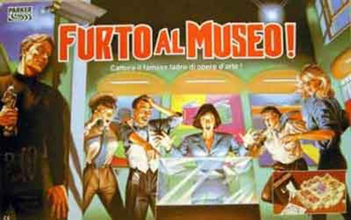 Furto al museo - Parker brothers