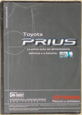 DVD Toyota Prius