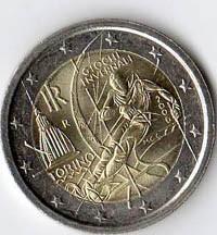 Italia 2 euro Giochi invernali Torino 2006