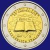 Italia 2 euro Trattati di Roma 2007