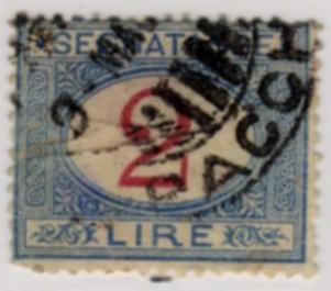 SEGNATASSE 1892 - 1903
