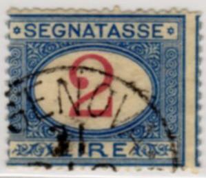Segnatasse 2 lire 1903
