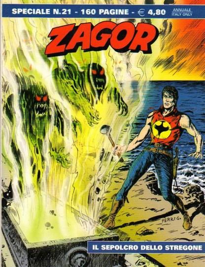 Zagor, speciale 21, Il sepolcro dello stregone
