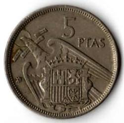 Spagna 5 pesetas 1984