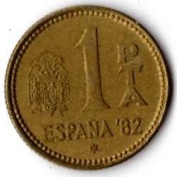 SPAGNA 1 PESETA - 1980