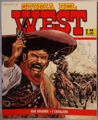 Storia del west N° 33