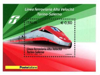 foglietto - completamento della linea ferroviaria ad alta velocità