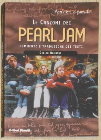 Le canzoni dei Pearl Jam - Giulio Nannini
