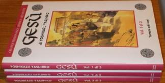Gesù, Yoshikazu Yasuhiko - 3 Volumi, serie completa