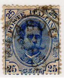 Effigie di Umberto I, terza serie, 25 Centesimi, 1893