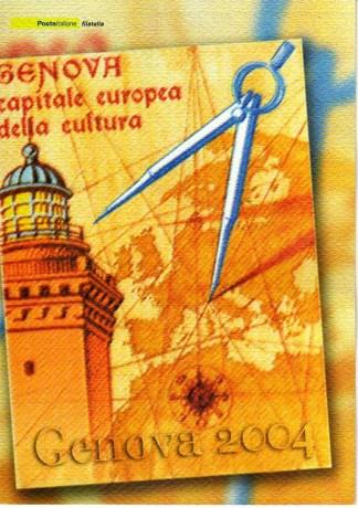 folder - Genova capitale europea della cultura 2004