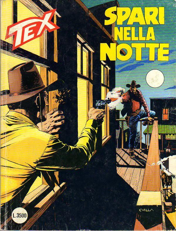 Tex, 468, Spari nella notte