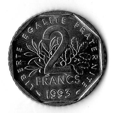 Francia 2 franchi