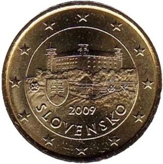 Slovacchia 50 cent