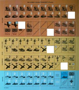 8th army - unità disponibili
