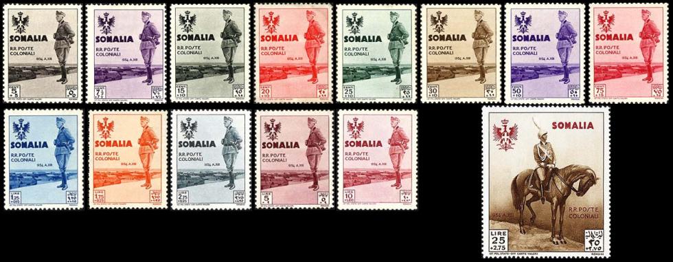 1935 visita di re Vittorio Emanuele III in Somalia