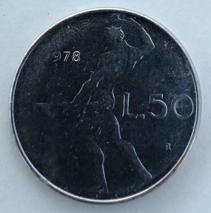 ITALIA 50 LIRE 1978