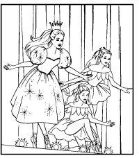 Principesse Danzanti Da Colorare Disegni Di Barbie Da Colorare