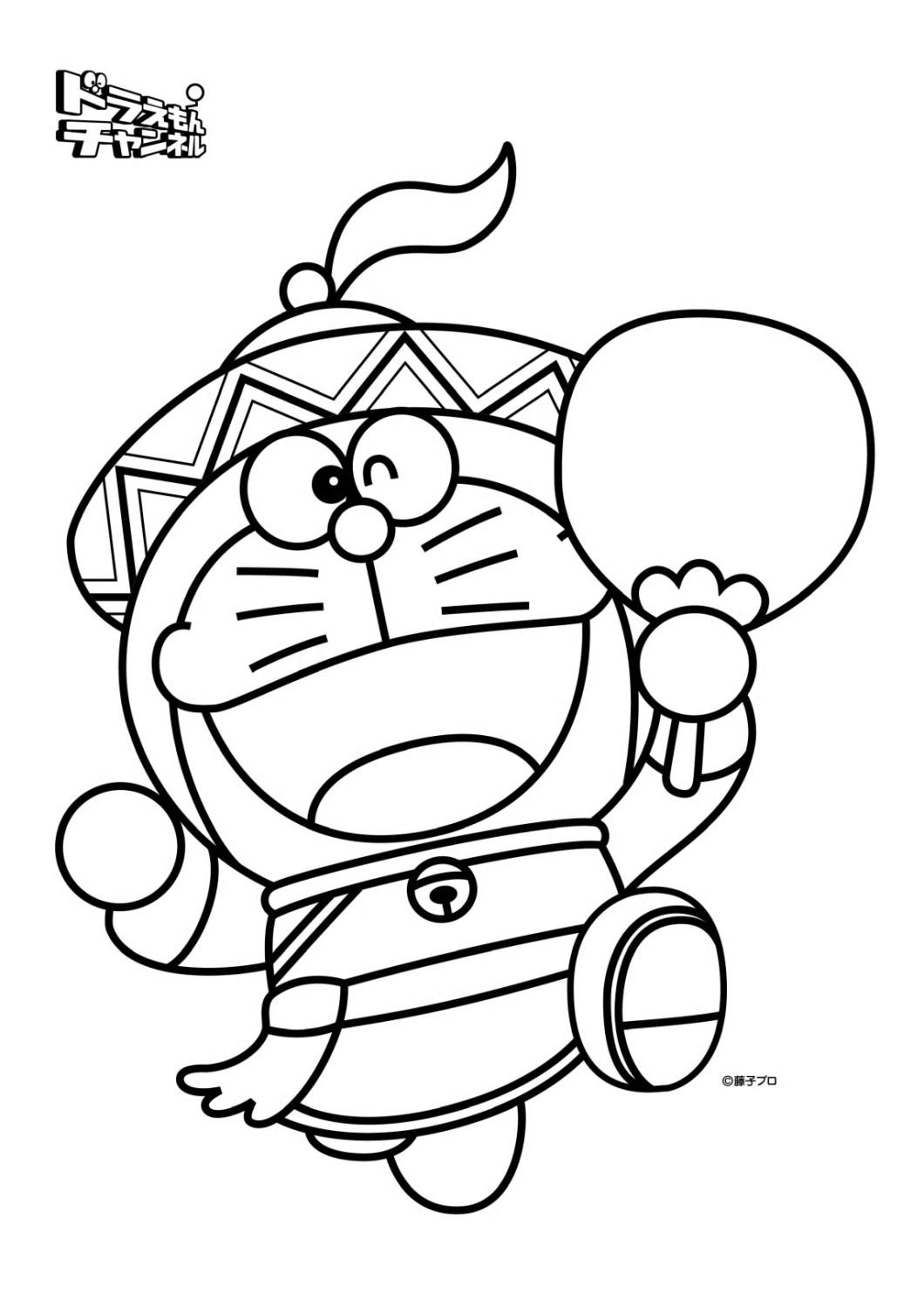 Coloring Book Doraemon