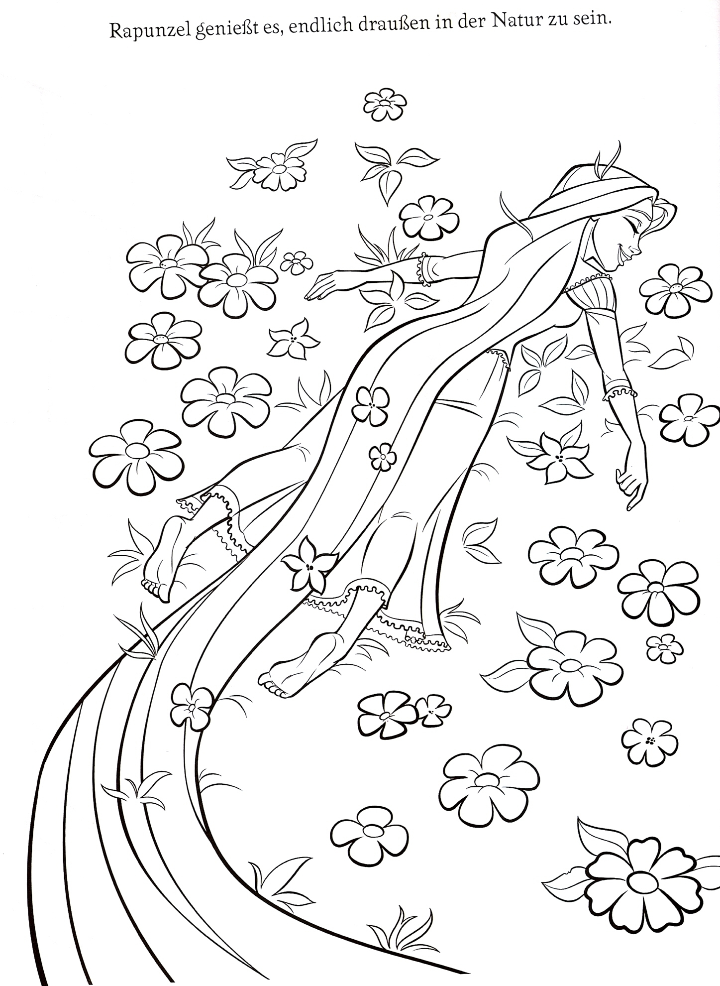 Fairy Tale Characters Anime Coloring Coloring Pages