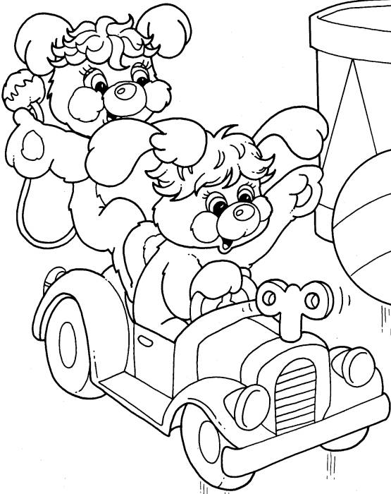 Free 80s Cartoons Coloring Pages