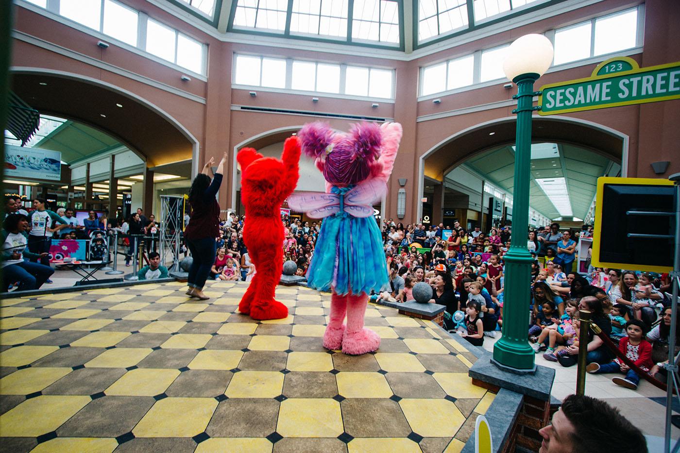 Sesame Street K Is For Kindness Pop Up Tour