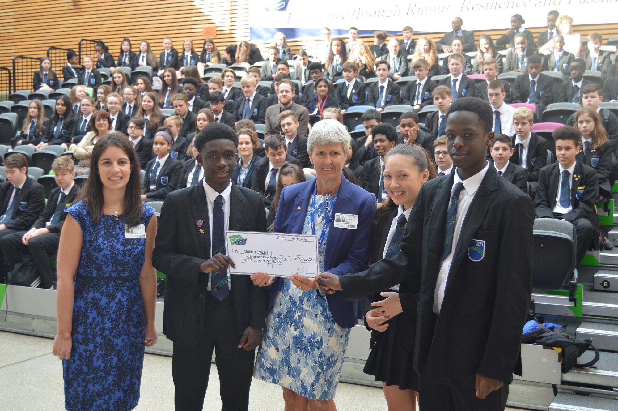 Coulsdon Students Pledged To Make Wishes Come True News Details