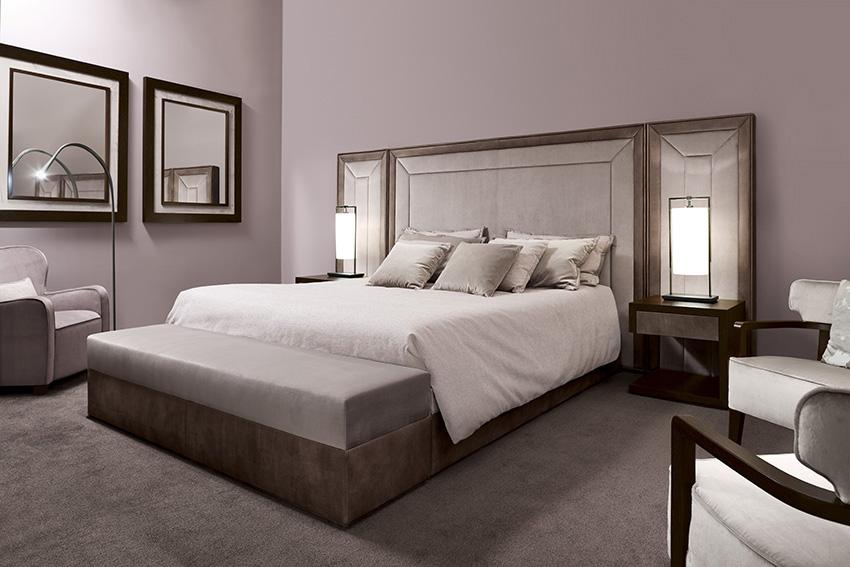 rose quartz sleeping room  oasis rooms  luxury interior