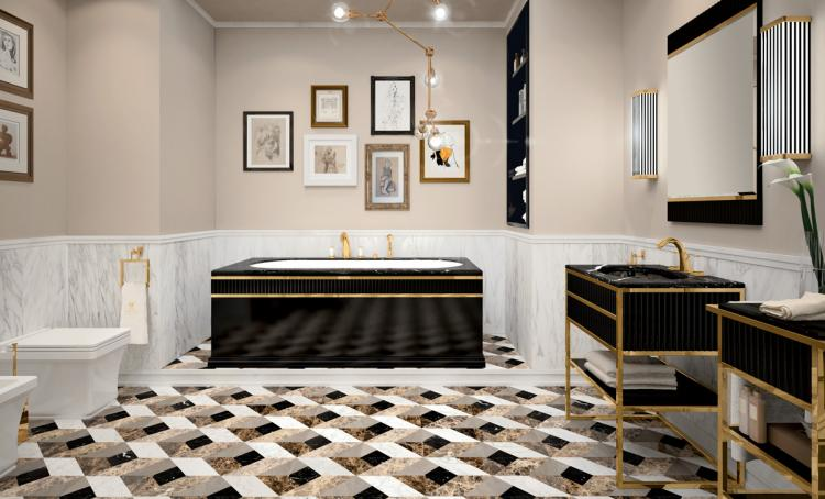 Oasis Bathroom Luxury complements