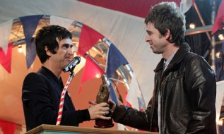 Noel Gallagher NME Awards